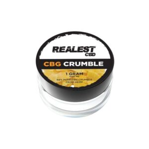 Realest CBD 1000mg CBG Crumble