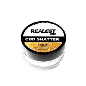 Realest CBD 1000mg CBD Shatter